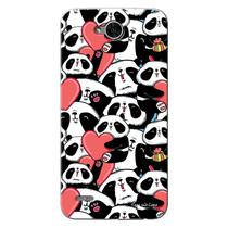 Capa Personalizada para  LG K10 Power M320TV Love Panda - LV21