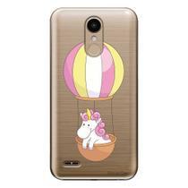 Capa Personalizada para LG K10 Pro M400 Unicórnio no Balão - TP308 -