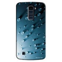 Capa Personalizada para LG K10 TV K430DSF Textura Gotasd Água - TX23 -