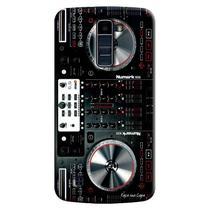 Capa Personalizada para LG K10 TV K430DSF Textura Mesa DJ - TX55 -