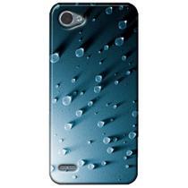 Capa Personalizada para LG Q6 M700TV - Gotas d água - TX23 -