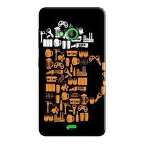 Capa Personalizada para Microsoft Lumia 535 - AT77 -