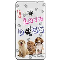 Capa Personalizada para Microsoft Lumia 535 Dogs - TP69 -