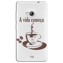 Capa Personalizada para Microsoft Lumia 535 - TP01 -