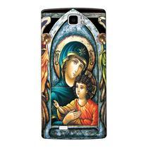 Capa Personalizada para Mirage 81S Maria Mãe de Jesus - RE15 -