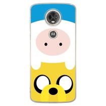 Capa Personalizada para Motorola Moto E5 Plus - Finn and Jake - TV17