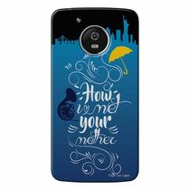 Capa Personalizada para Motorola Moto G5 How I Met Your Mother - TV71 - Lenovo