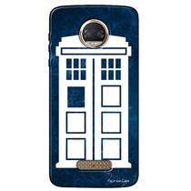 Capa Personalizada para Motorola Moto Z2 Force Doctor Who - TV07