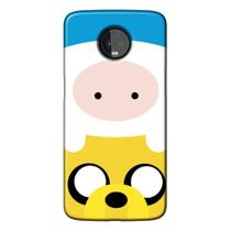 Capa Personalizada para Motorola Moto Z3 Play - Finn and Jake - TV17