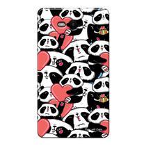 Capa Personalizada para Nokia Lumia N820 Love Panda - LV21 -