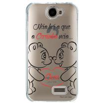 Capa Personalizada para Positivo One S420 Frases - TP110 -