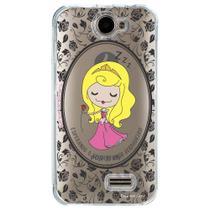 Capa Personalizada para Positivo One S420 Princesa Bela Adormecida - TP126 -