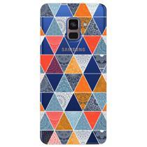 Capa Personalizada para Samsung Galaxy A8 2018 Plus - Abstrato - TP373 -