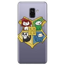 Capa Personalizada para Samsung Galaxy A8 2018 Plus - Brasão Fofo - HP09 -