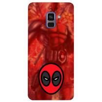 Capa Personalizada para Samsung Galaxy A8 2018 Plus - Deadpool - SH07 -