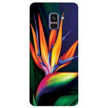 Capa Personalizada para Samsung Galaxy A8 2018 Plus - Flor - FL09 -