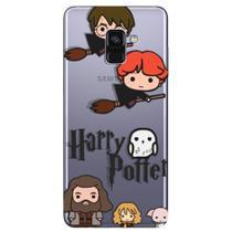Capa Personalizada para Samsung Galaxy A8 2018 Plus - Harry Potter - HP08 - Matecki