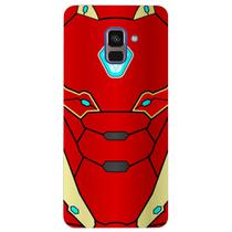Capa Personalizada para Samsung Galaxy A8 2018 Plus - Homem de Ferro - SH15 -