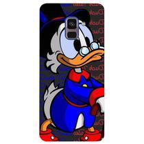Capa Personalizada para Samsung Galaxy A8 2018 Plus - Nostalgia - NT37 -