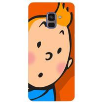 Capa Personalizada para Samsung Galaxy A8 2018 Plus - Nostalgia - NT80 -