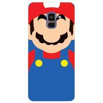 Capa Personalizada para Samsung Galaxy A8 2018 Plus - Super Mario - GA25 -