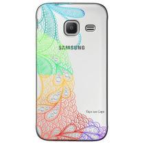 Capa Personalizada para Samsung Galaxy J1 NXT - Renda - TP293 -