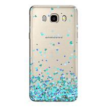 Capa Personalizada para Samsung Galaxy J5 2016 Corações - TP172 -