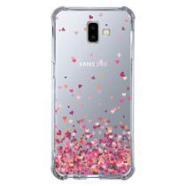 Capa Personalizada para Samsung Galaxy J6 Plus J610 Corações - TP48 - Matecki