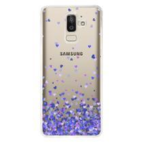 Capa Personalizada para Samsung Galaxy J8 J800 Corações - TP170 - Matecki