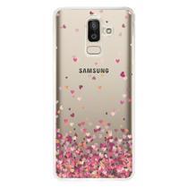 Capa Personalizada para Samsung Galaxy J8 J800 Corações - TP48 - Matecki