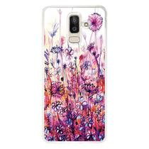 Capa Personalizada para Samsung Galaxy J8 J800 Florais - FL14 -