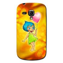 Capa Personalizada para Samsung Galaxy S3 mini Ve I8200 - DE07 -