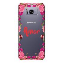 Capa Personalizada para Samsung Galaxy S8 G950 Amor - TP267 -