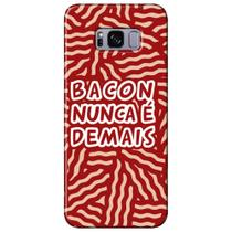 Capa Personalizada para Samsung Galaxy S8 G950 - Bacon - AT95