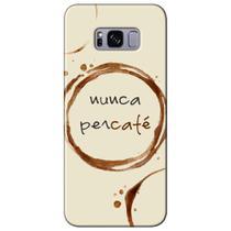 Capa Personalizada para Samsung Galaxy S8 G950 - Café - AT96 -