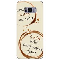 Capa Personalizada para Samsung Galaxy S8 G950 - Café - AT97 -