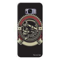 Capa Personalizada para Samsung Galaxy S8 G950 Caveira - CV34 -