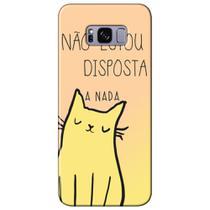 Capa Personalizada para Samsung Galaxy S8 G950 - Não Estou Disposta - ME06 -
