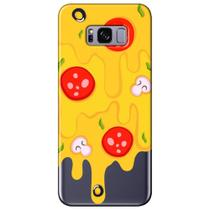 Capa Personalizada para Samsung Galaxy S8 G950 - Recheio de Pizza - TP379 -