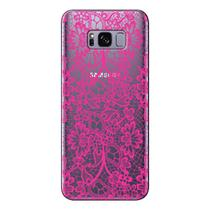 Capa Personalizada para Samsung Galaxy S8 G955 Renda Pink - TP282 -