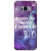 Capa Personalizada para Samsung Galaxy S8 Plus G955 - A Culpa é do Signo - SN37 -
