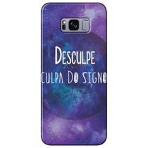 Capa Personalizada para Samsung Galaxy S8 Plus G955 - Culpa do Signo - SN39 -