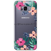 Capa Personalizada para Samsung Galaxy S8 Plus G955  - NM07 -