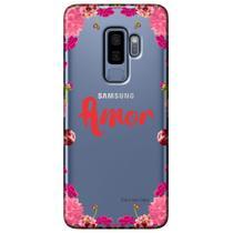 Capa Personalizada para Samsung Galaxy S9 Plus G965 - Amor - TP267 -