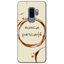 Capa Personalizada para Samsung Galaxy S9 Plus G965 - Café - AT96 -