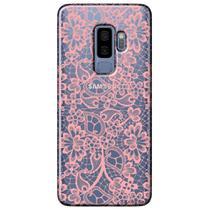 Capa Personalizada para Samsung Galaxy S9 Plus G965 - Renda Rosa - TP284 -