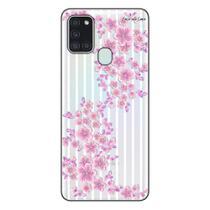 Capa Personalizada Samsung Galaxy A21S A207 - Floral - FL27 - Matecki
