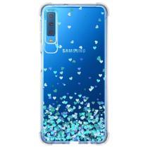 Capa Personalizada Samsung Galaxy A7 2018 Corações - TP172 - Matecki