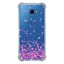 Capa Personalizada Samsung Galaxy J4 Core J410 - Corações - TP167 - Matecki