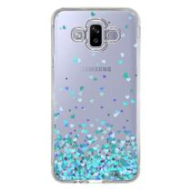 Capa Personalizada Samsung Galaxy J7 Duo Corações - TP172 -